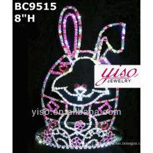 Coroa de cristal e tiara