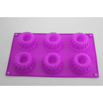 DIY Chiffon Silicone Purple Tray