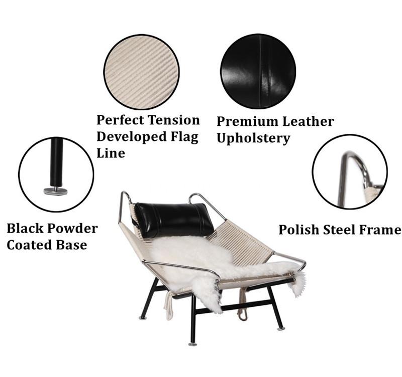 pp 225 flag chair