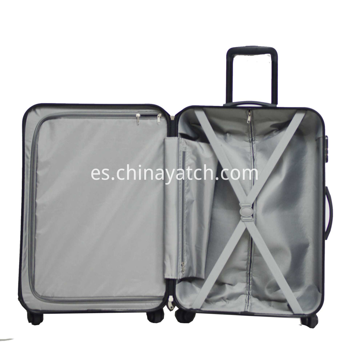 alloy luggage lining
