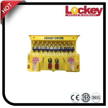 ABS Resin Combination Safety Padlock Lockout Station