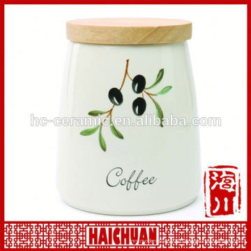 Customized ceramic seal for cookie jar