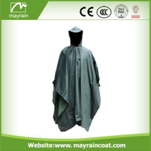 OEM Rainproof Polyester Camo Rain Poncho