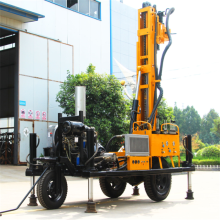 Hydraulic bore pile rock drilling machine