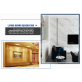 UV Coating Marble Panel Plastic PVC Sheet