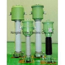 Transformador de corriente invertida con aislamiento de gas Sf6