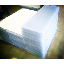 Hoja rígida del PVC de la certificación del SGS del fabricante chino para el material de los muebles y del suelo