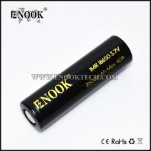 Enook 3.7V 18650 2600mah bateria ładowalna