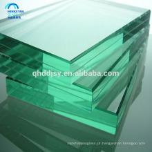 Vidro moderado baixo-e pvb laminado para o vidro de elevação do edifício