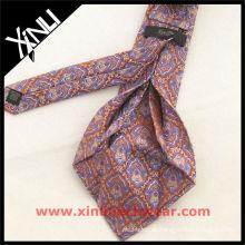 Exklusive Paisley Sieben Falten Kleid Krawatte