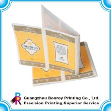 Kundenspezifischer bedruckter Teilkleberpapieraufkleber