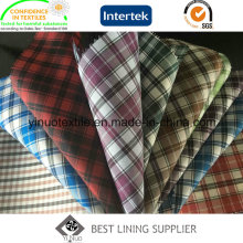 100% Polyester Classic Check Futter