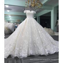 China guangzhou fora do ombro vestido de noiva 2017 WT423