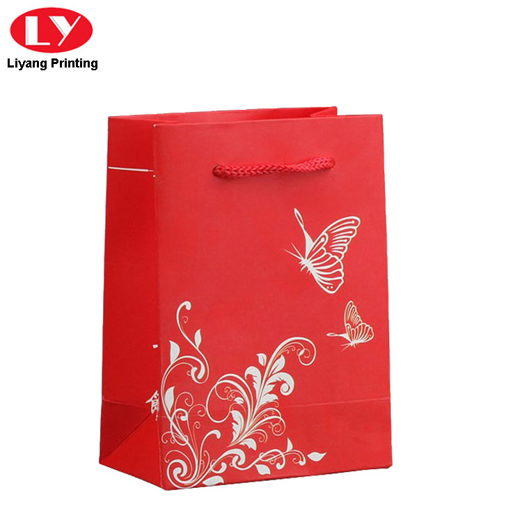 Red Paper Gift Bag