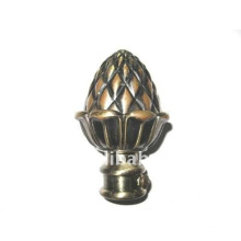 Pine Nut ball Curtain Rod Finial