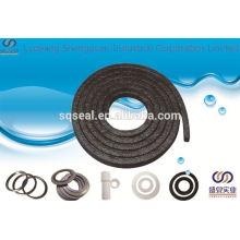 Aramid fiber packing for piston rings