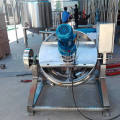 Industrial Steam/Electric Tilting Jacketed Kettle with mixer/agitator