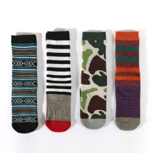 Color Option Sweat-absorbent Novelty knitted socks