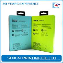 Caja de empaquetado por encargo del ipad del mini del papel de la cartulina de los productos electrónicos