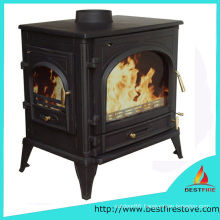 Good Quality Cast Iron Wood Burning Stove with Beside Door