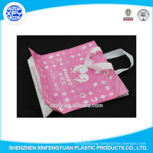 Hand Length Handle Plastic Shopping Bag With Customized Logo