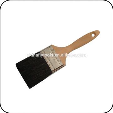handel de madeira Escova de pintura de cerdas pretas