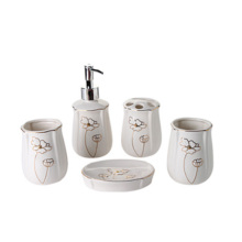 whole sale new design ceramic brand bathroom set