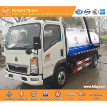 SINOTRUK hot sale 4x2 dung tank suction truck