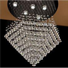glass ball chandelier led modern pendant light