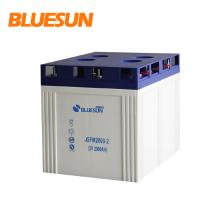 Высокое качество Bluesun глубокого цикла свинцово-кислотных 2v 2000ah солнечной батареиглубокий цикл солнечной батареи 2v 2000ah гелевых батарей