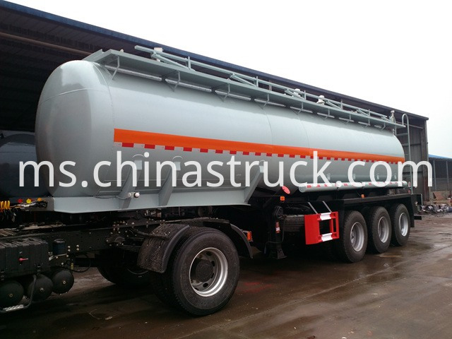 Chemical Transport Road Tanker Trailer