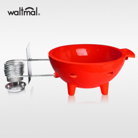 Waltmal Outdoor Hot Tub in Red