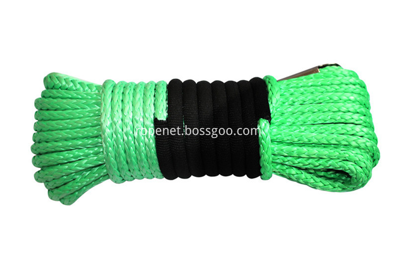 Green UHMWPE Winch Rope 799px
