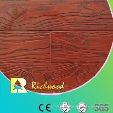 Household 8.3mm E1 AC3 Embossed Walnut Waterproof Laminated Floor