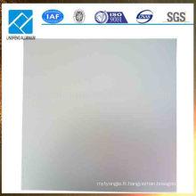 Plaque en alliage d'aluminium 5052