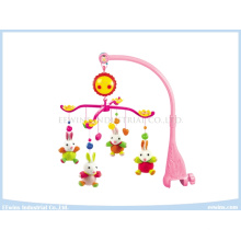 Infant Toys Wind up Musical Toys Baby Mobiles with Fabric Pendant