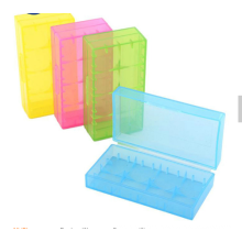 Hot sale different color plastic  battery box