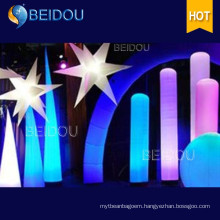 Event Decoration Inflatable Pillar Column Arch Tube Cones Ivory Tusk