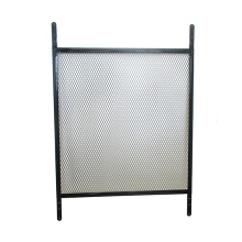 Black and White Easy Installation Door Grille