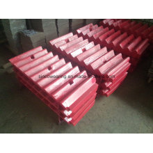 Jaw Crusher Jaw Plate in High Quality and Factory Price