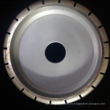China fabrica diamante de alta calidad cortado rueda