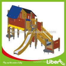 Équipement de jeux extérieur innovant Wood Series LE.PE.018