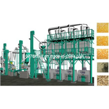 Fábrica de moagem de farinha de milho