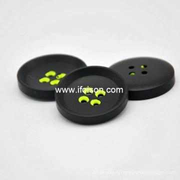 Полиэфирные кнопки с красочными отверстием