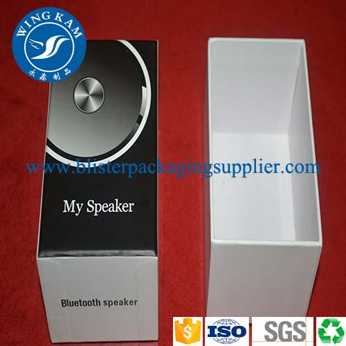 bluetooth speaker paper packaging,