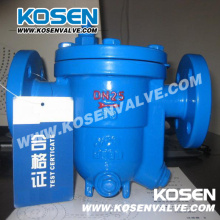 Armadilha de vapor de esfera flutuante de aço fundido (CS41)