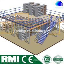 Armazenagem resistente de Shevling do armazenamento do mezanino do uso interno de Jracking