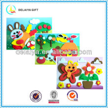 Novel EVA foam sticker toy for kids