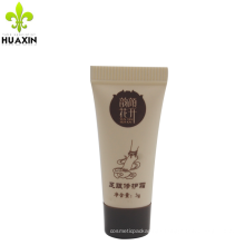 High quality soft empty sample custom 3 g cosmetics foot repair tube