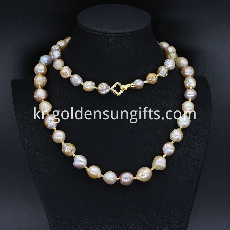 Big Baroque Freshwater Pearl Necklace